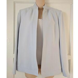 Elegant Blazer Jacket Light Powder Blue S10 Chic